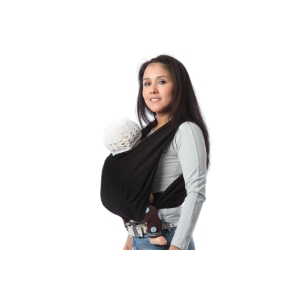 463dff6bc79 Cette écharpe plaît aux mamans du fait qu elle s enfile et s enlève  facilement. Il suffit d installer le bébé dedans et de passer les deux bras  à travers de ...