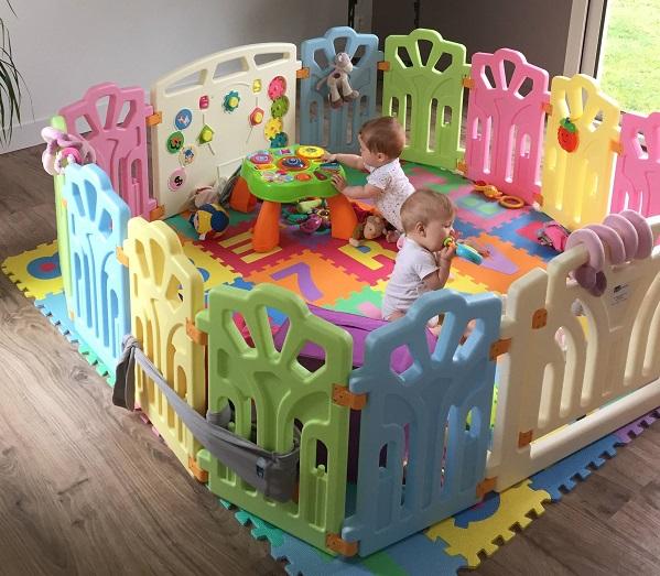 parc pour bebe modulable